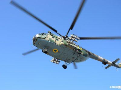 Тренуються армійські вертолітники…