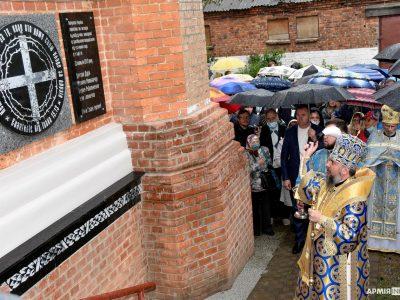 У Харкові відкрили меморіальну дошку загиблим патріотам
