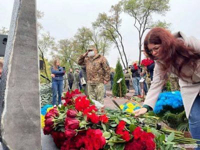 На Харківщині вшанували пам'ять воїнів-авіаторів, загиблих у катастрофі літака Ан-26Ш