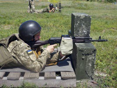 Харківські тероборонівці відкрили «осінній сезон» полігонних занять