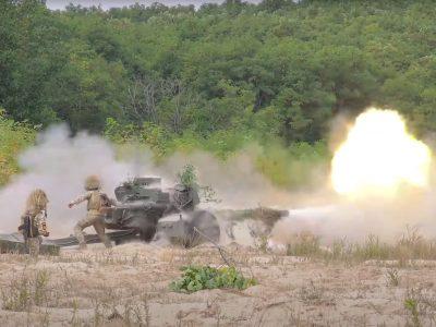 Конкурс на кращу артилерійську батарею ЗСУ