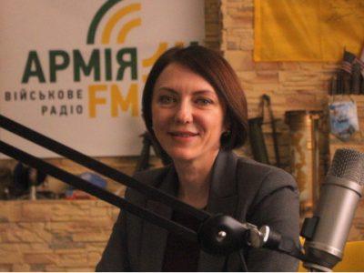 Закликаю всіх слухати офіційні засоби масової інформації – заступник Міністра оборони Ганна Маляр