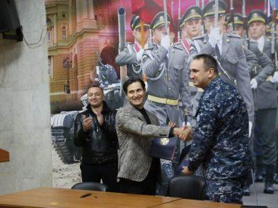 «Покликані морем»: підписано меморандум щодо створення фільму про вірних присязі курсантів-моряків