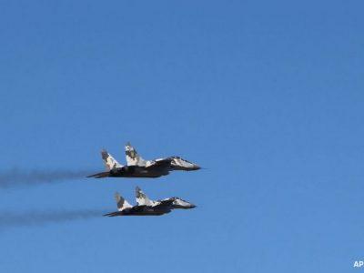 На Волині літаки МіГ-29 готові до ведення повітряного бою вдень та вночі