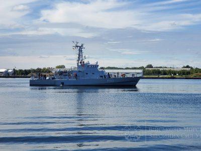 Берегова охорона США оцінила практичні заняття українського екіпажу патрульного катеру типу «Айленд»