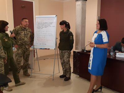 ОБСЄ та Міноборони провели семінар для військовослужбовців ЗСУ