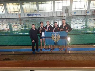 Морські піхотинці посіли призові місця на відкритому чемпіонаті з плавання