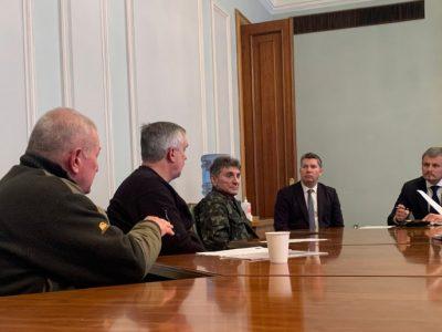 В Офісі Президента України відбулася зустріч із представниками спілки ветеранів Афганістану