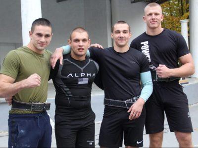 У Києві відбувся турнір зі стронгмену серед військовослужбовців