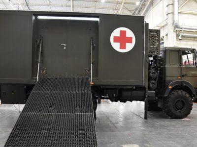 У рухомому медичному кабінеті можна проводити дві операції одночасно
