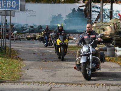 У Дніпрі презентували мілітарний мотоклуб «Patriots», який об'єднає байкерів – захисників України