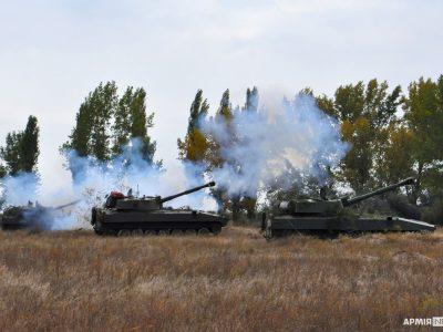 Резервісти-морпіхи влучним вогнем «Гвоздик» знищили умовні цілі противника