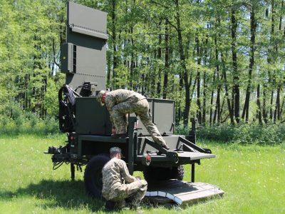 Контрбатарейний радар AN/TPQ-36 може визначати одночасно декілька позицій ворога