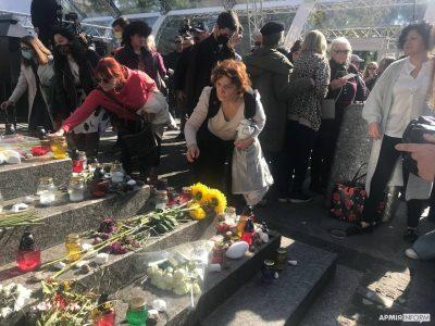 У Києві відбувся марш пам'яті євреїв, убитих у Бабиному Ярі в Другу світову