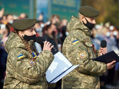 Першокурсники «Кадетського корпусу» склали урочисту клятву