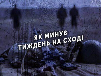 Тиждень на передовій: 51 порушення режиму «тиші», три військовослужбовці дістали поранення